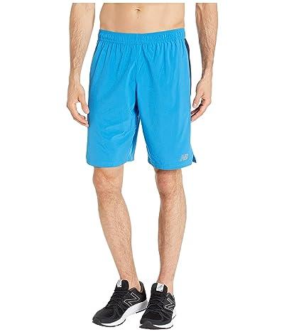 New Balance Tenacity Woven Shorts (Lapis Blue) Men
