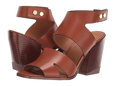Franco Sarto Isabella by Sarto (Brown Leather) Women