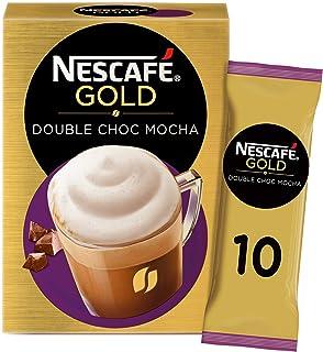 كيس من مزيج القهوة والشوكولاتة المزدوجة والموكا البُنية، 23 جم، 10 أكياس - عبوة واحدة