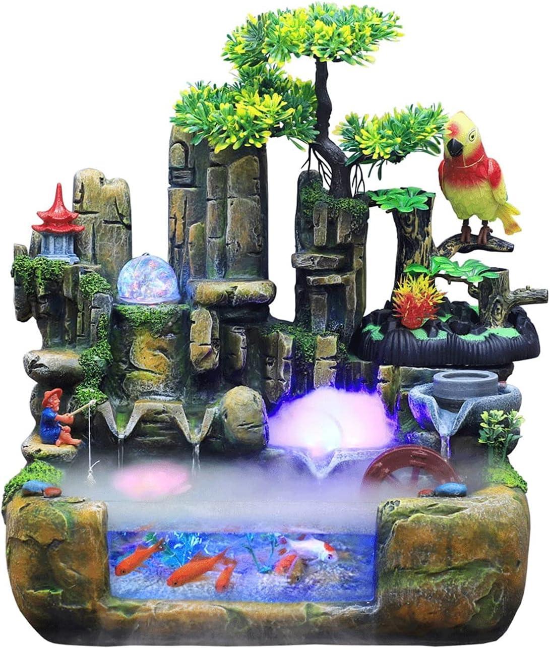 DJDLLZY Tabletop Fountains Award Rockery Popular popular Fountain Wate Indoor