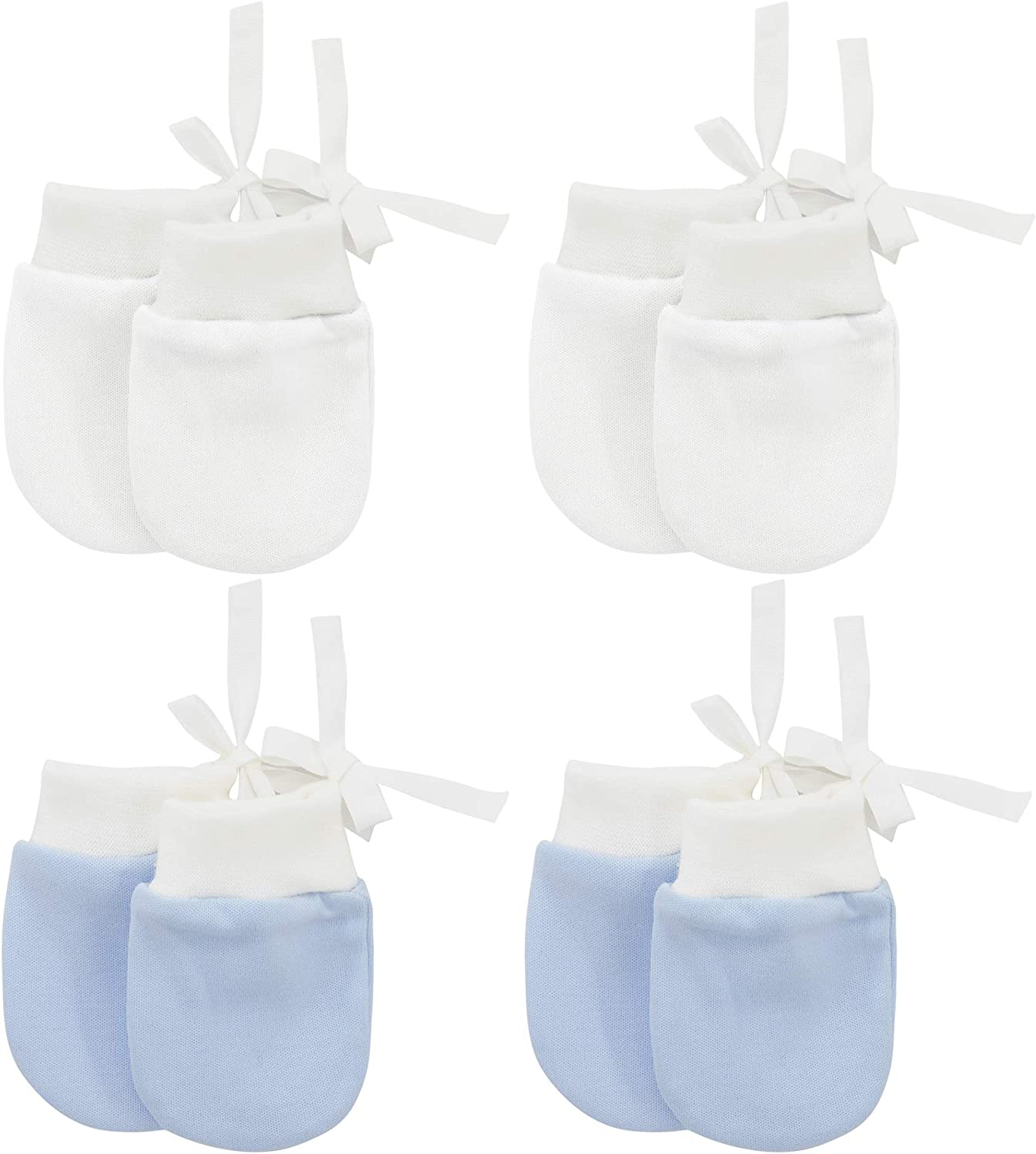 Baby Mittens No Stratch Boys and Girls 0-6 Months Infant Gloves