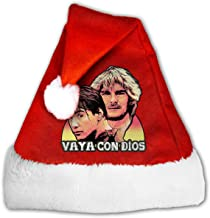 Point Break Hes Not Coming Back Vaya Con Dios Santa Claus Father Christmas Hats for Adults and Teens Unisex 1217 Inch (WH) Red
