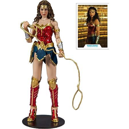 """DC Justice League WONDER WOMAN METALLIC ARMOR 12/"""" Inch Scale Figure"""