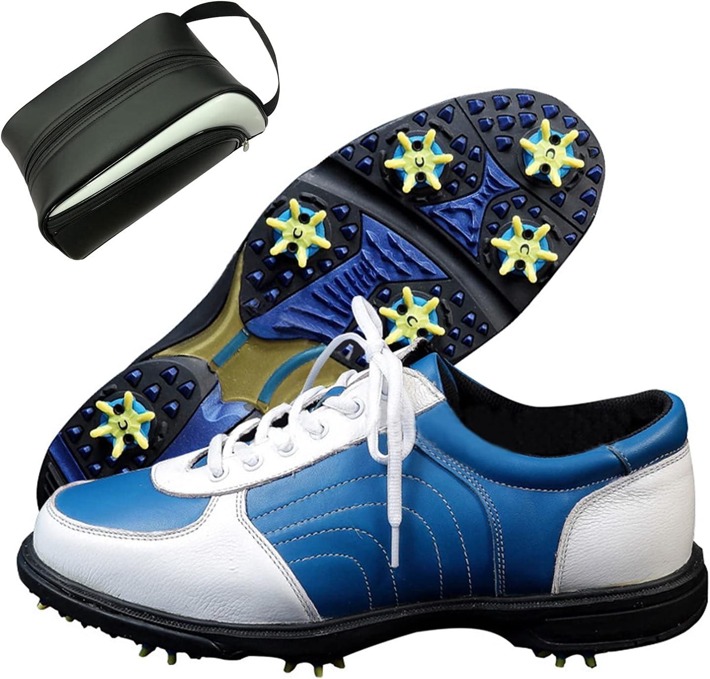 CAMILYIN Unisex First Layer Cowhide Golf Regular dealer w Super intense SALE Soft Shoe Shoes