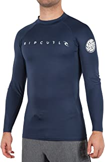 featured product Rip Curl All Time Long Sleeve 50+ UPF Rash Guard Swim Shirt