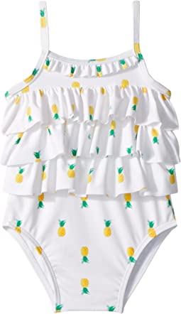 Janie and Jack Ruffle One-Piece Swimsuit (Infant)