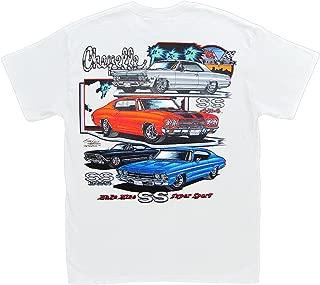 Make Mine SS Chevelle T-Shirt: Chevrolet Chevy Malibu SS396 SS454 1966 1968 1969 1970