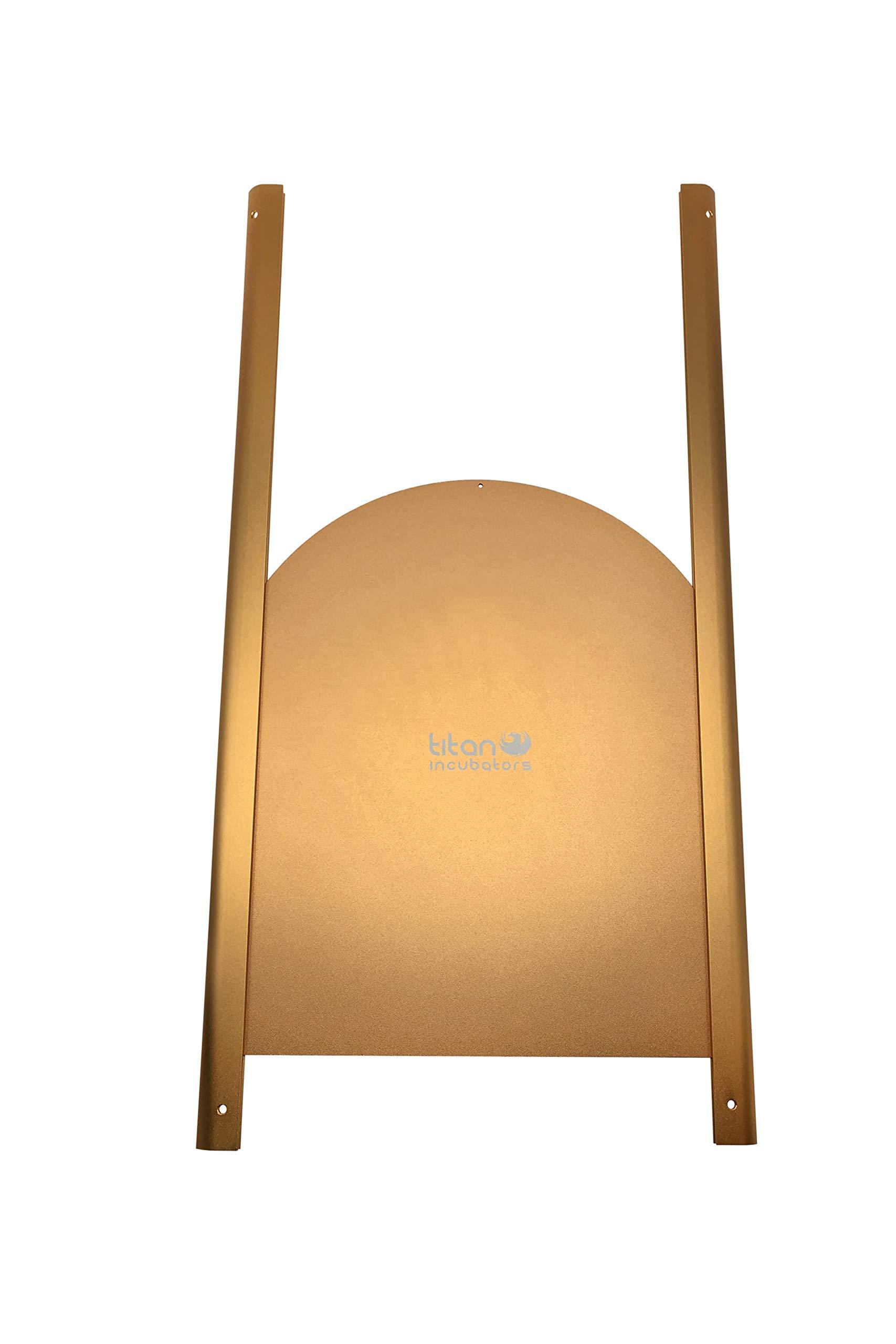 Titan Incubators Elite Puerta metálica corredera para gallinero: Amazon.es: Jardín