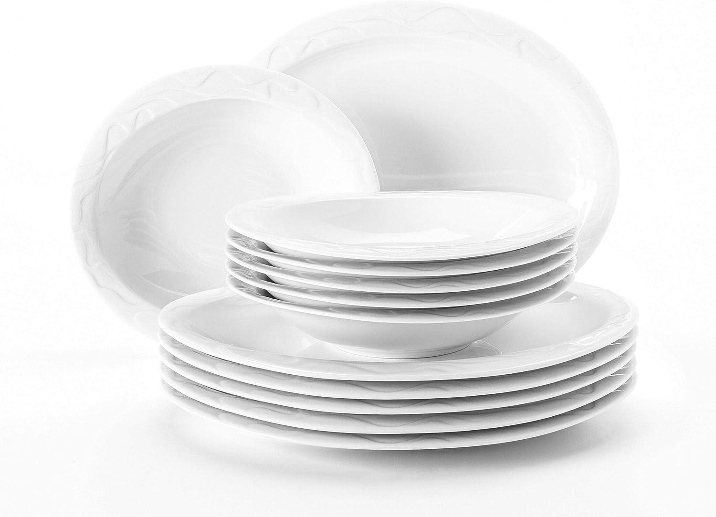 SELTMANN Marina rifiuti alimentari PIATTO 28 cm bianco NUOVO