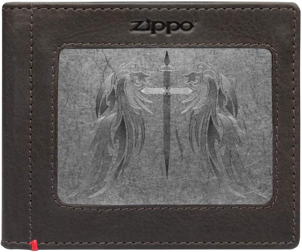 Zippo Cash Strap Leather Wallets