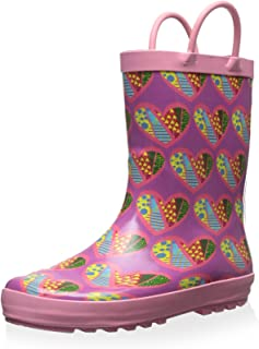 Lilly of New York Kid's Heart Rainboot