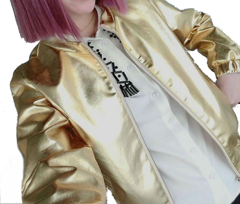 レディース ライダース ジップアップ ブルゾン ダンス 衣装 ヒップホップ