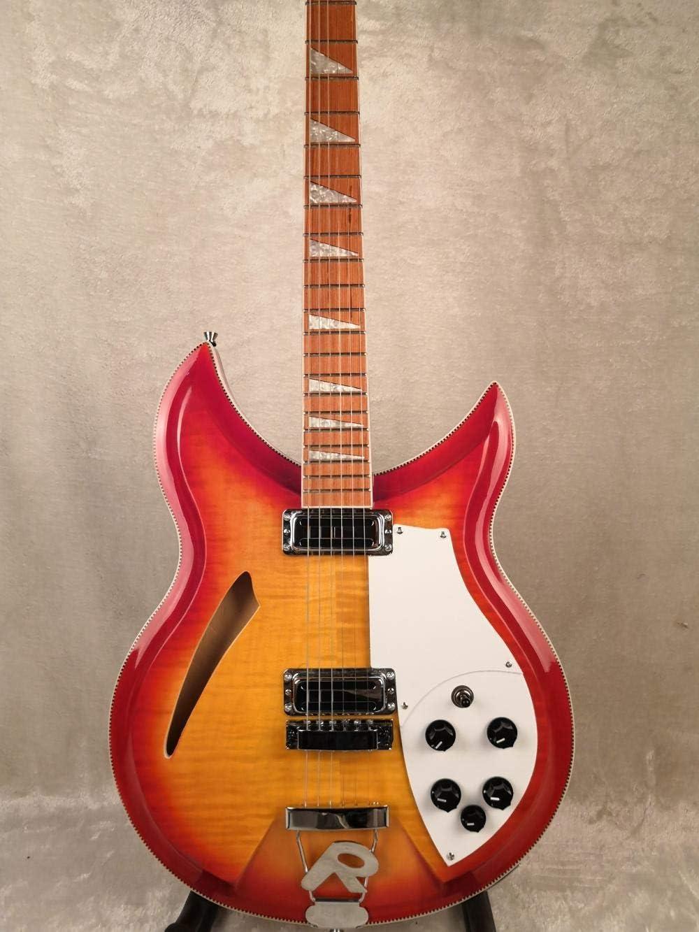 LYNLYN Guitarras Guitarra eléctrica 12/6 Cuerda Guitarra acústica acústica Guitarras Guitarra Cuerdas de Guitarra Acero acústico Guitarra eléctrica (Color : 6 String, Size : 39 Inches)