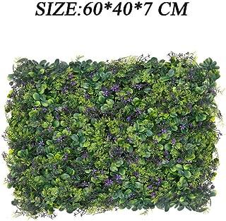 Il Campo 20x1 MT SIEPE Ornamentale OMBREGGIANTE EDERA Artificiale