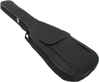 Pinzhi Bolsa de Guitarra Eléctrica Doble Correa Bolsa de Guitarra Eléctrica Soft Case Gig Bag Mochila