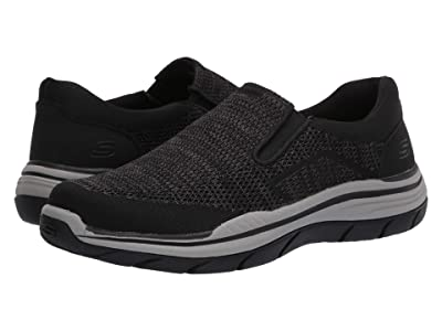 SKECHERS Relaxed Fit Expected 2.0 Arago (Black) Men