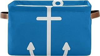 REFFW Paquet de 2 bacs de Rangement en Tissu Pliable pour la Maison, Panier de Cube pour Placard à la Maison, tiroirs de C...