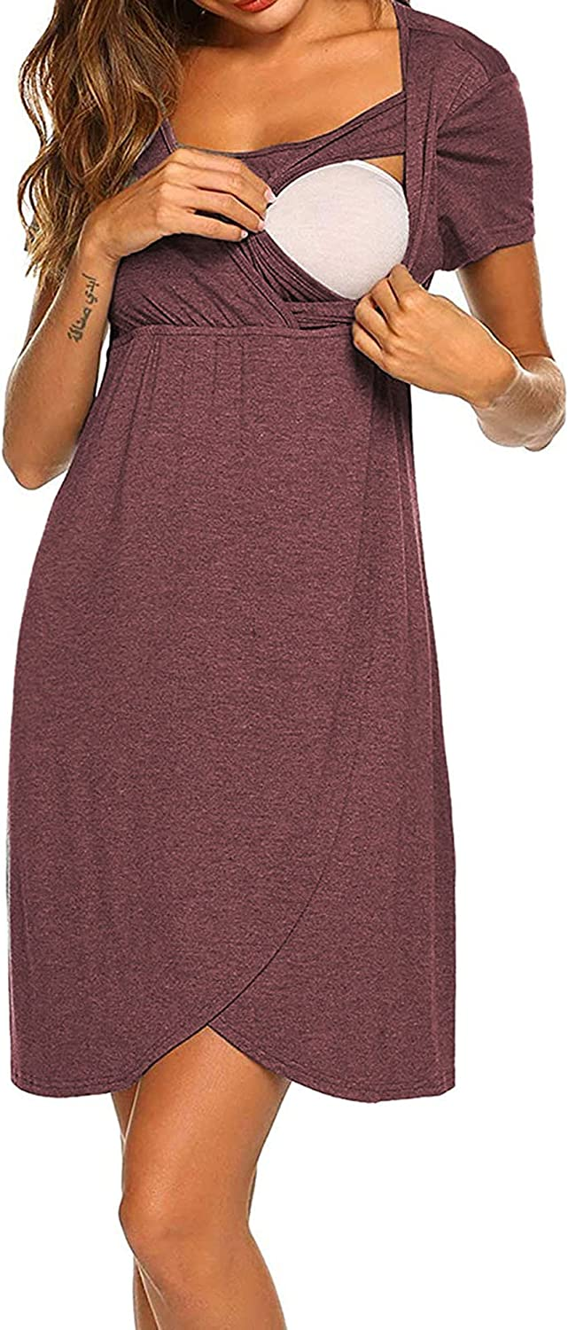 QinCiao Women 3 service in 1 Maternity Delivery Ranking TOP13 Nursing Nightgown Labor