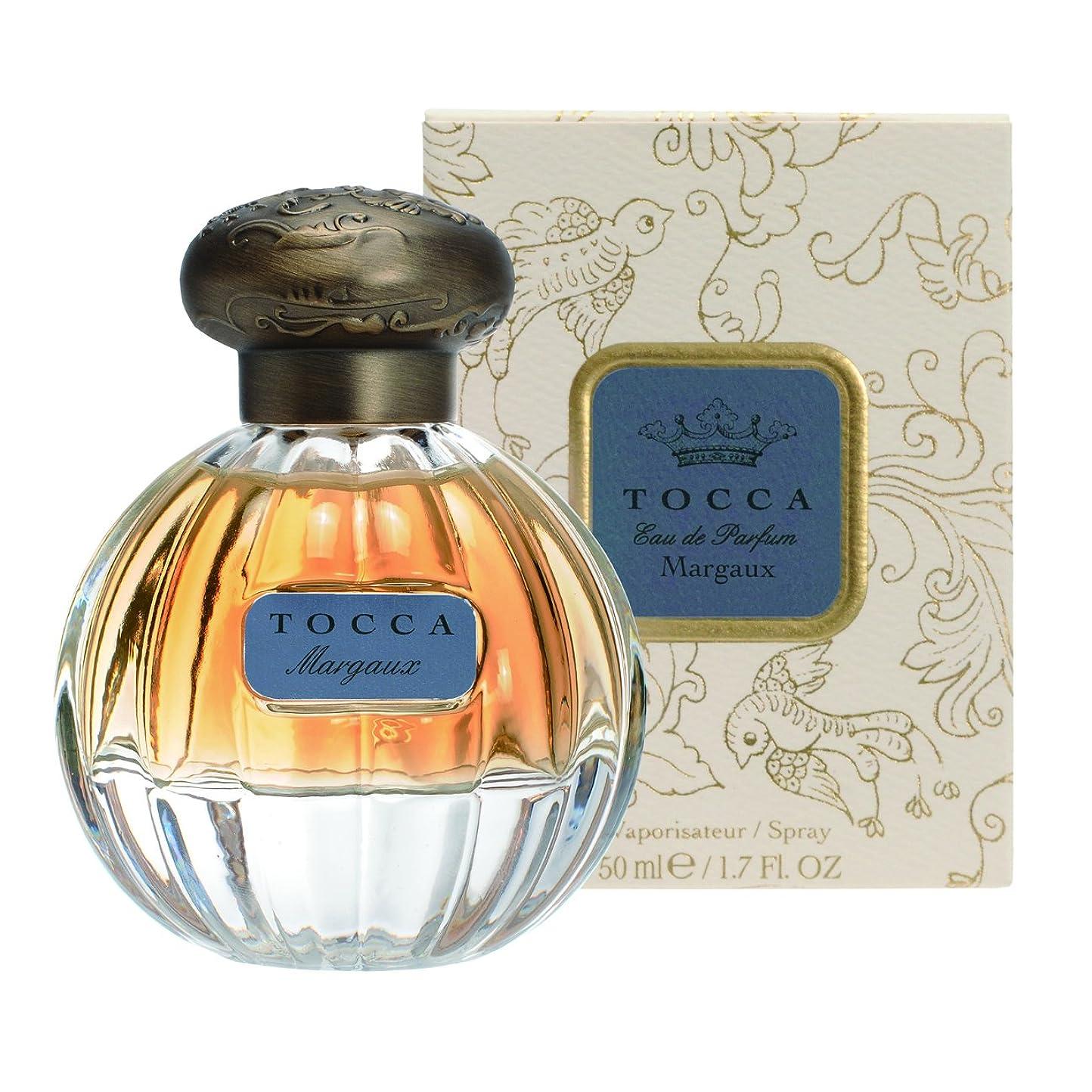 分割原稿知性トッカ(TOCCA) オードパルファム マルゴーの香り 50ml(香水 永遠の愛を思わせるフローラルとカシミヤウッド、ムスクの甘い温かみにバニラのアクセントが加わった香り)
