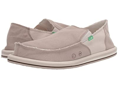 Sanuk Vagabond Hemp (Natural/White) Men