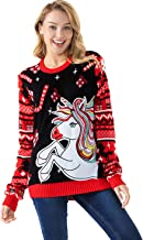Unisex Women's Ugly Christmas Sweater Funny Fairisle Xmas Pullover - Express Your Polar Bear