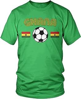 Men's Ghana Soccer, Love Ghanaian Football Pride T-Shirt