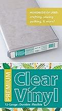C&T PUBLISHING Premium Clear 12 Gauge Vinyl 18