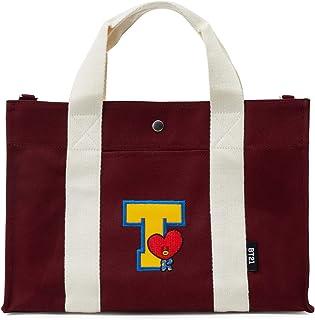 1c0d6a0954b3 BT21 Official Merchandise for Line Friends - Character Canvas Messenger Tote  Bag