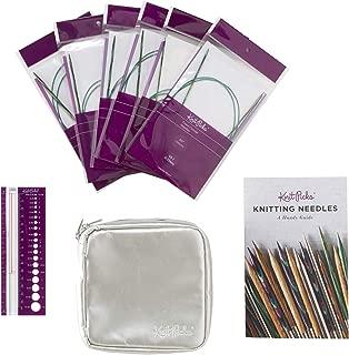 Knit Picks Fixed Circular Sock Knitting Needle Set (Caspian)