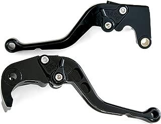 1999-2010 Suzuki SV650/S Motorcycle Adjustable Brake/Clutch Lever Set [Black with Black Switch]