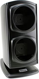[Newly Upgraded] Versa Automatic Double Watch Winder in Black - Quiet Japanese Motors, Independently Controlled Settings, ...