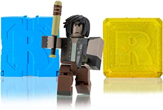 Roblox Action Collection - After The Flash: Wasteland Survivor Figure Pack + Two Mystery Figure Bundle [Includes 3 Exclusive Virtual Items]