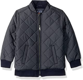 The Children's Place Baby Boys' Quilted Bomber