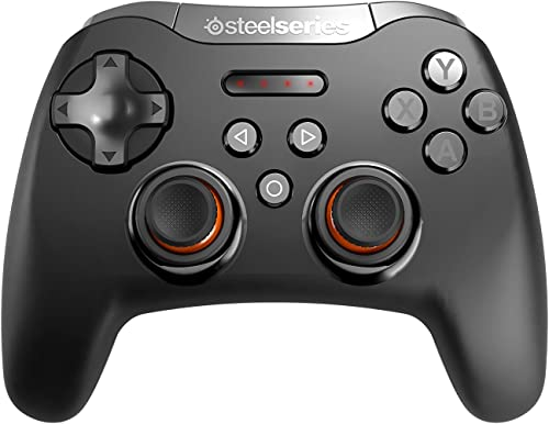 SteelSeries Stratus Bluetooth Mobile Gaming Controller - Android, Windows, VR - 40+ Hour Battery Life - Supports Fort...