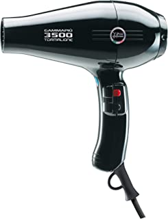GAMMAPIU' Asciugacapelli Professionale 3500 Power Nero, Phon per Capelli Ultra Potente, Phon per Capelli Professionale con...