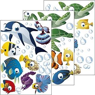 GESCHENKE-FABRIK Wandsticker mit Motiv 'Unterwasserw