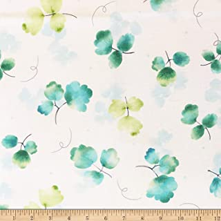 Fabric & Fabric QT Fabrics Delaney Tossed Leaves Cream