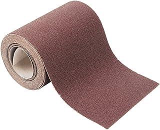 Wolfcraft 1739000 1 Rouleau de Papier Auto-agrippant Largeur 115 Mm X Longeur 4 Mètres Corindon Grains 60 ,grain 60 4 x 11...
