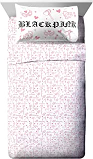 Jay Franco Blackpink Kill This Love Twin Sheet Set - 3 Piece Set Super Soft and Cozy Bedding - Fade Resistant Microfiber S...