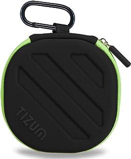 TIZUM Earphone Carrying Case - Multi Purpose Pocket Storage Travel Organizer Case for Headphone, Pen Drives, Memory Card, ...