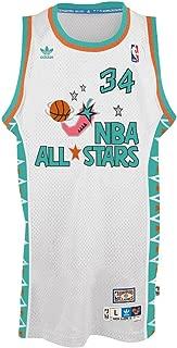 Hakeem Olajuwon NBA Throwback 1996 All-Star West Swingman Jersey - White