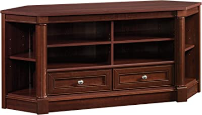 """Sauder 420603 Palladia Entertainment Credenza, for Tvs up to 60"""", Select Cherry Finish"""