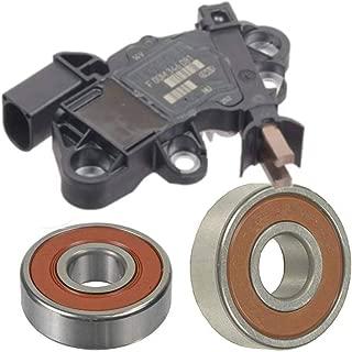Alternator Rebuild Kit; Bosch Brand Voltage Regulator with Brushes and Bearings 2007-2008 Mercedes R320 GL320 ML320 Diesel