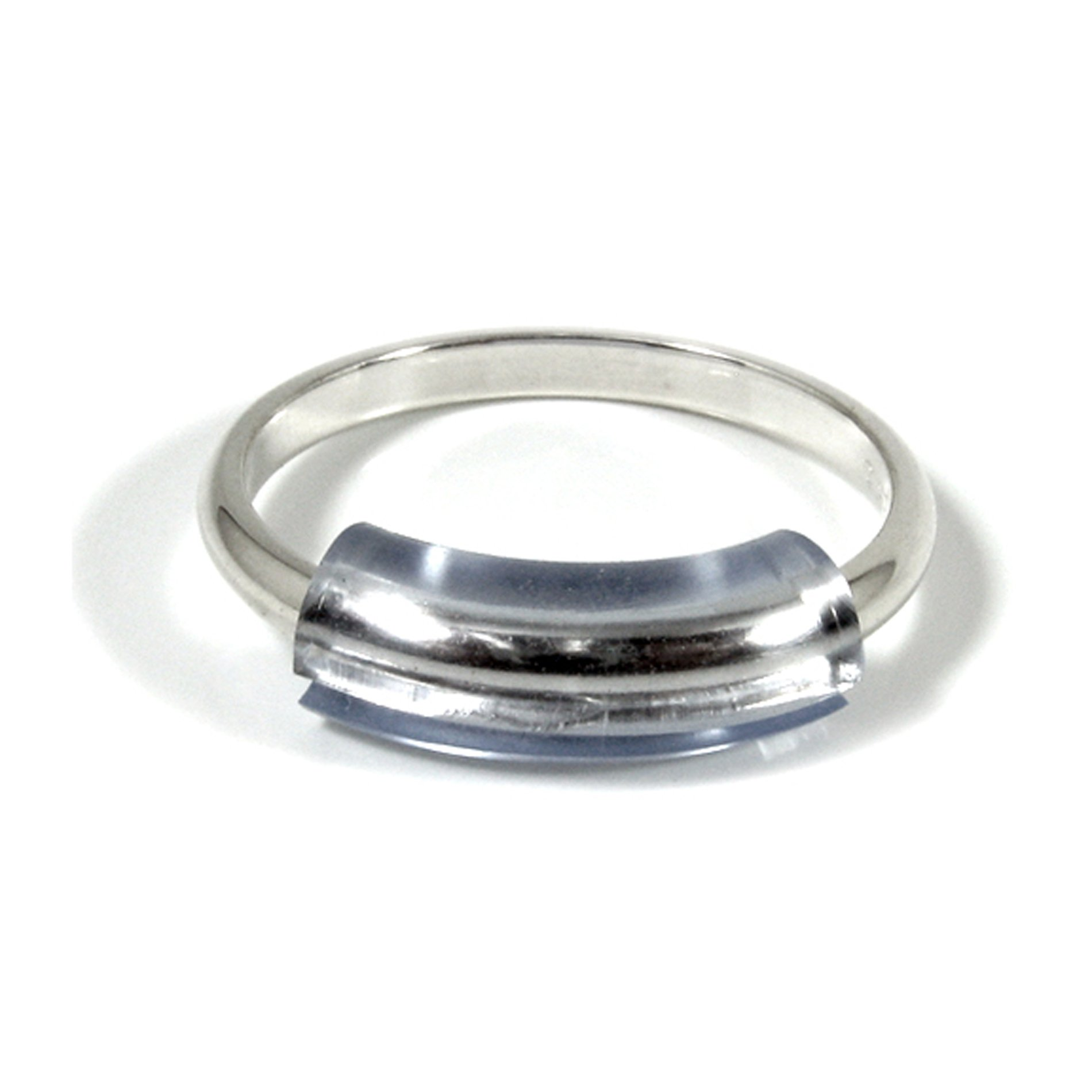 RING NOODLE: Ring Size Reducer | Ring Guard | Ring Size Adjuster. Size: Mixed for Thin Rings, 1 Mini, 1 Petite, 1 Narrow, for rings 0.5 to 2.5 mm wide.