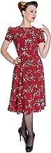 Hell Bunny New Birdy Vintage Landgirl 40's Dress