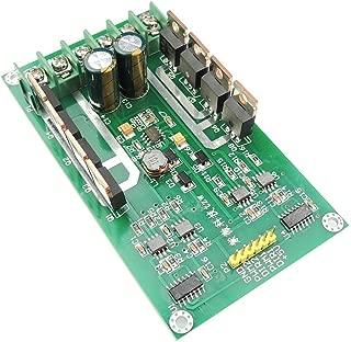 uniquegoods H-Bridge DC Dual Motor Driver PWM Module DC 3~36V 10A Peak 30A IRF3205 High Power Control Board for Arduino Robot Smart Car