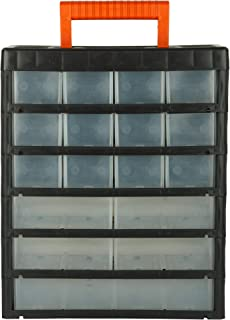 BLACK+DECKER BDST73827-8 Large Portable Cabinet for Multi-Purpose Home/Tool Storage with Carry-Handle (17 Drawers)