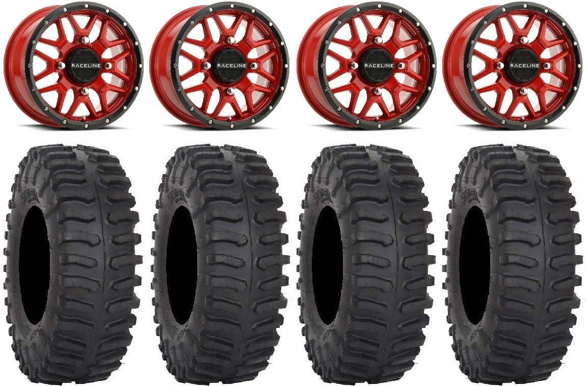 Bundle - 9 Items: Raceline Krank Red Houston Mall XT300 32