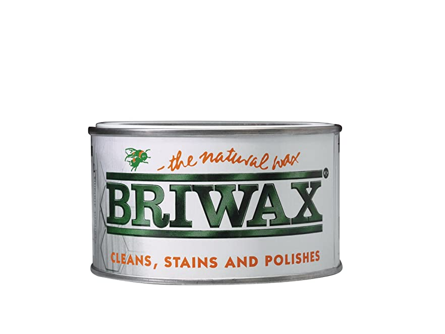 宗教オリエンタル常にBRIWAX(ブライワックス) オリジナル ワックス ミディアムブラウン 400ml