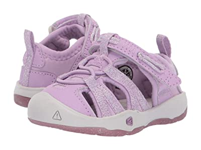Keen Kids Moxie Sandal (Toddler) (Lupine/Vapor) Girls Shoes
